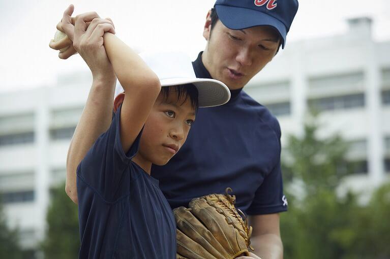 野球肘の定期検診の実施